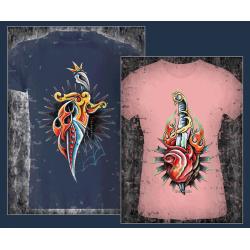 Dolche und Herzen (Daggers & Hearts) ohne Slogan